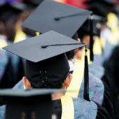 High school graduation image courtesy of Shutterstock