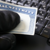 Social security thief, image courtesy of Shutterstock