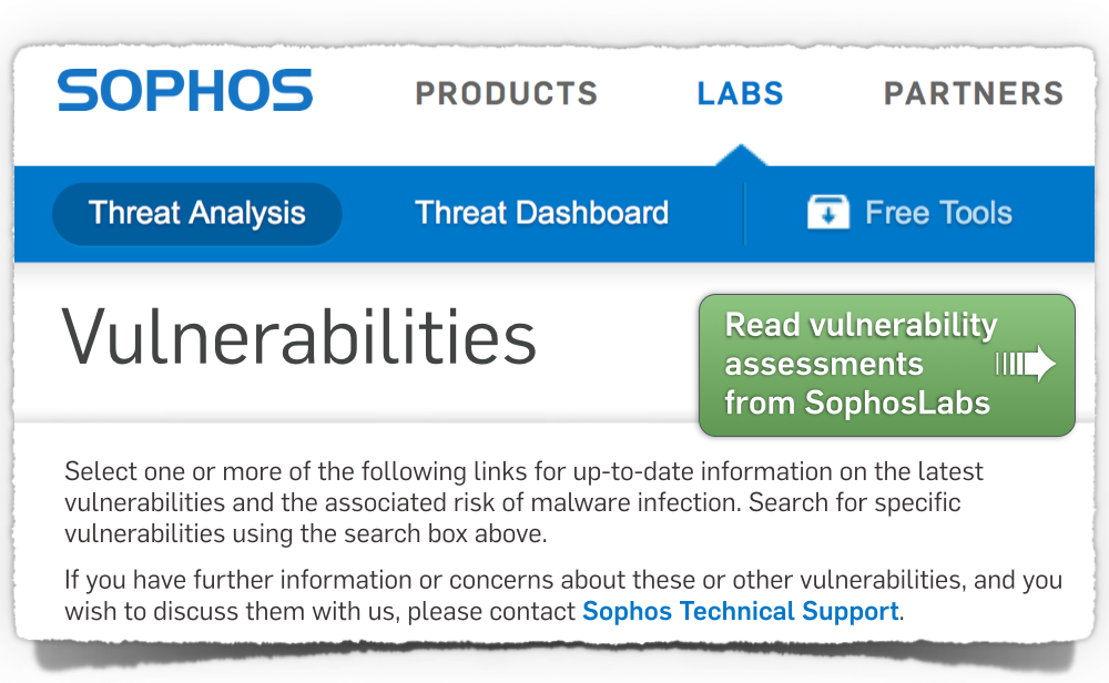 Click to get the latest vulnerability info...