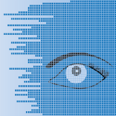 Cyber eye image courtesy of Shutterstock.com