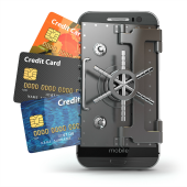Mobile payments security. Image courtesy of Shutterstock.
