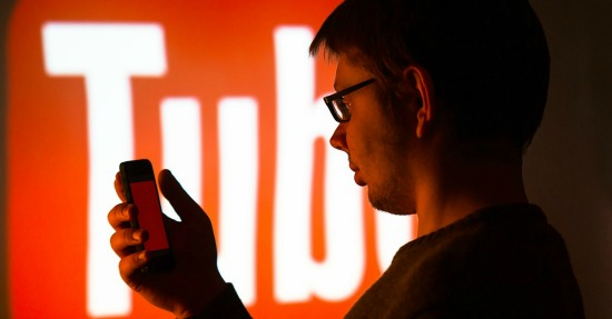 YouTube man. Image courtesy of Michal Ludwiczak/Shutterstock.