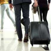 Image of airport bags courtesy of Shutterstock