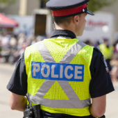 Image of Canadian policeman courtesy of Shutterstock