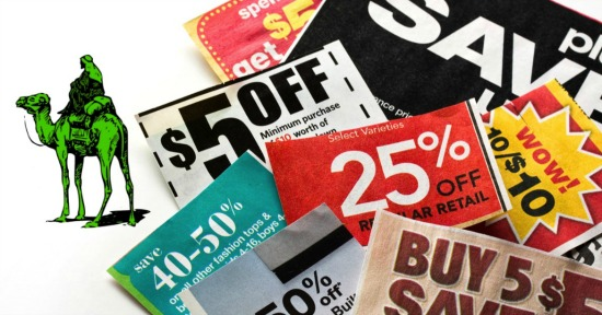 Coupons. Image courtesy of Shutterstock