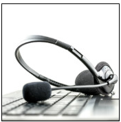 Support headset, image courtesy of Shutterstock