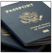 US passports, courtesy of Shutterstock