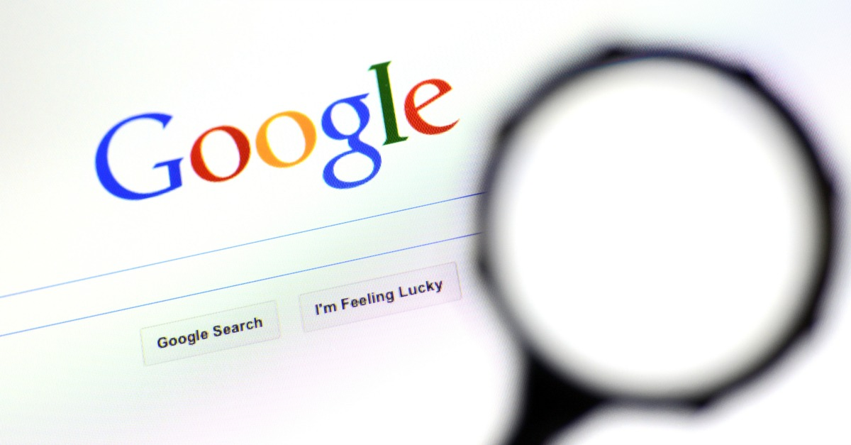 Google. Image courtesy of ChameleonsEye/Shutterstock
