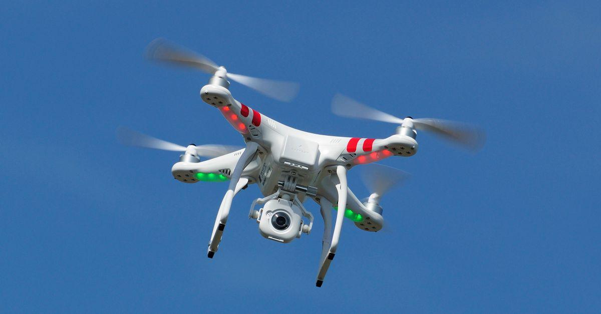 Drone. Image courtesy of stevemart / Shutterstock.