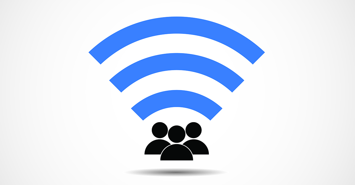 Wi-Fi. Image courtesy of Shutterstock.