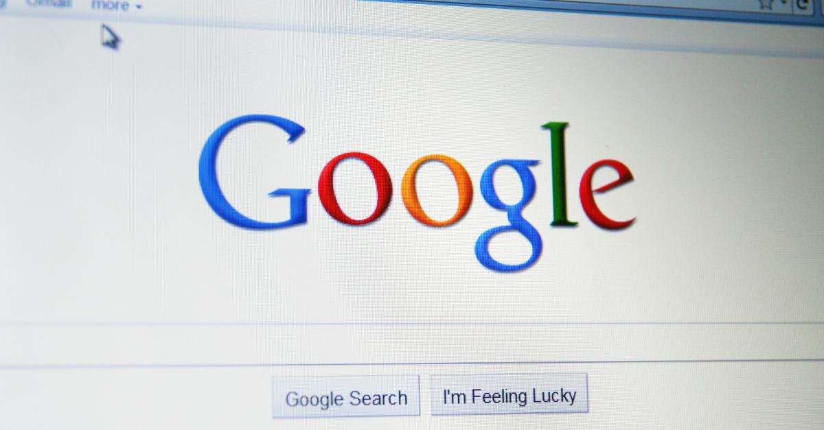Google Screenshot. Image courtesy of Annette Shaff / Shutterstock.com