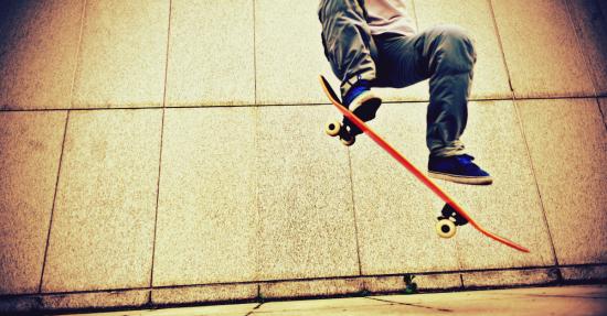 Skateboard hack