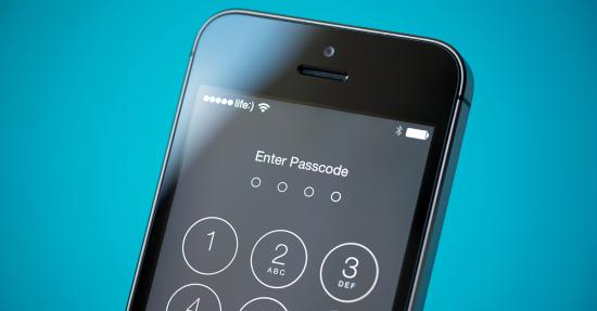 iOS 9 lockscreen