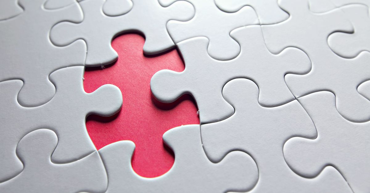 Missing puzzle. Image courtesy of Shutterstock.