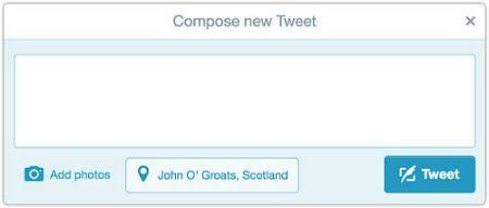 John O'Groats tweet