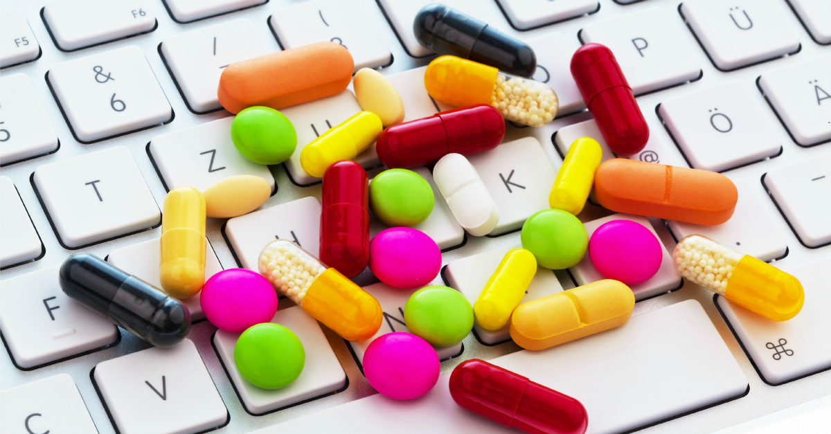 Online pharmacy. Image courtesy of Shutterstock.