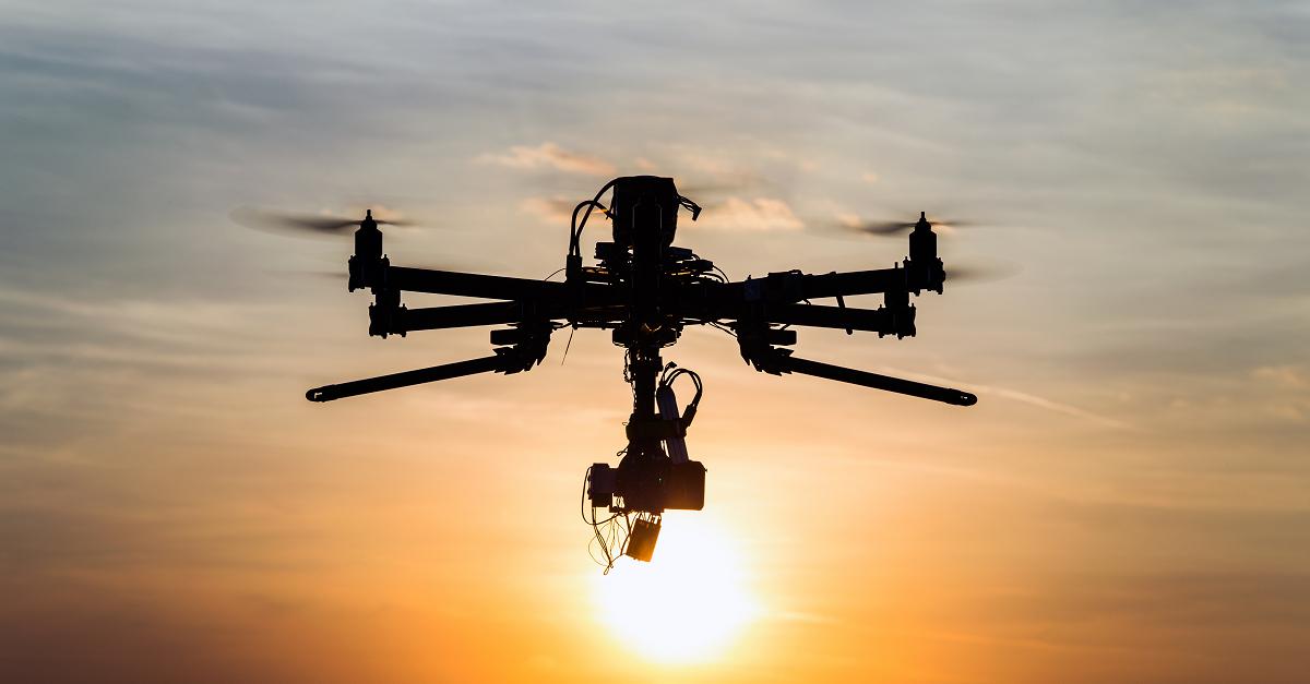 droneinsunset
