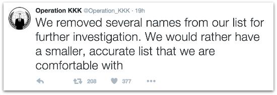 Opkkk names removed tweet