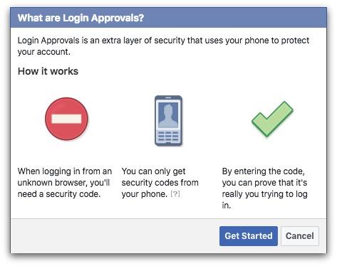 login approvals