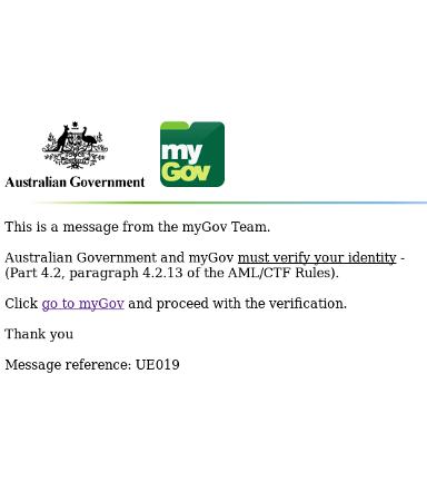 Australia MyGov phish