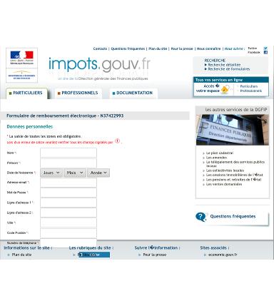 French phish site 2017